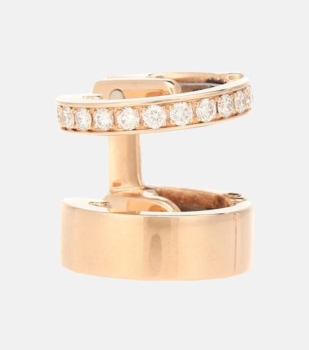 Boucle d'oreille unique Berbere Module en or rose 18 ct et diamants - Repossi - Modalova