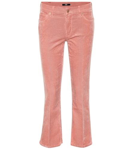 Pantalon en velours côtelé Cropped Boot - 7 For All Mankind - Modalova