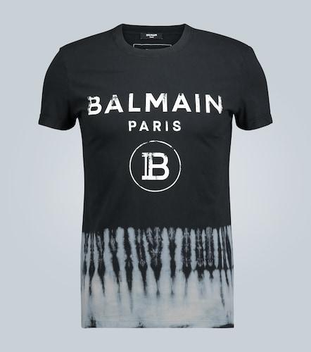 T-shirt à bord tie-dye - Balmain - Modalova