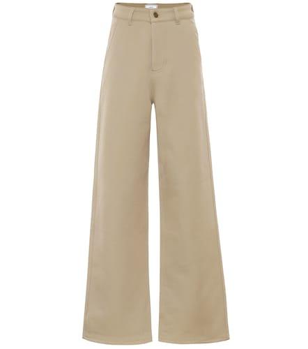 Pantalon en laine mélangée - AMI PARIS - Modalova