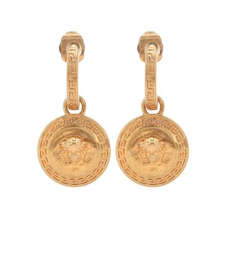 Boucles d'oreilles Tribute Medusa - Versace - Modalova