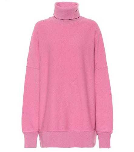 Sweat-shirt oversize en coton à col roulé - Calvin Klein 205W39NYC - Modalova