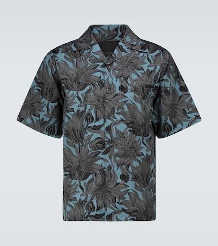 Chemise manches courtes à fleurs - Prada - Modalova