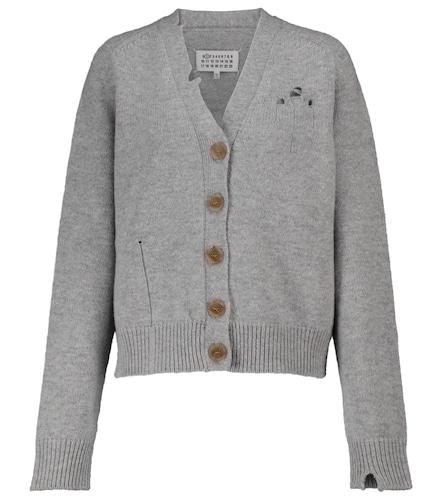 Cardigan en laine mélangée - Maison Margiela - Modalova
