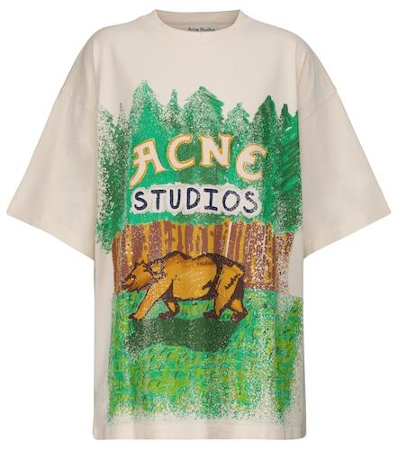 T-shirt en coton - Acne Studios - Modalova
