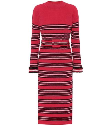 Robe en laine et cachemire à finitions en vison - Fendi - Modalova