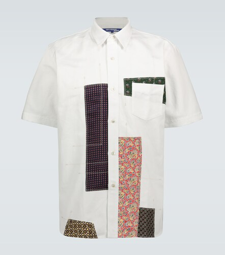 Chemise manches courtes à patchwork - Junya Watanabe - Modalova