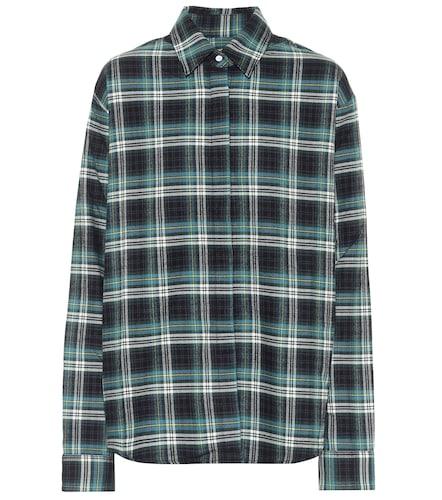 Chemise Brady en coton à carreaux - RtA - Modalova