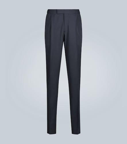 Pantalon habillé en laine mélangée - Ermenegildo Zegna - Modalova