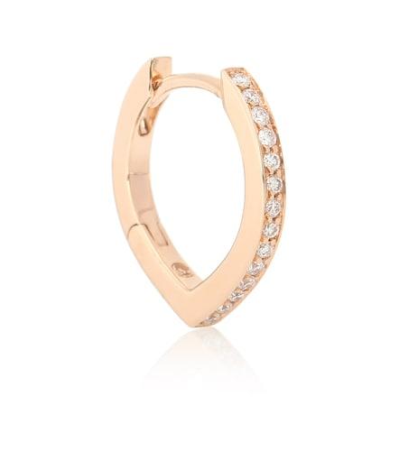 Boucle d'oreille unique Antifer en or rose 18 ct et diamants - Repossi - Modalova