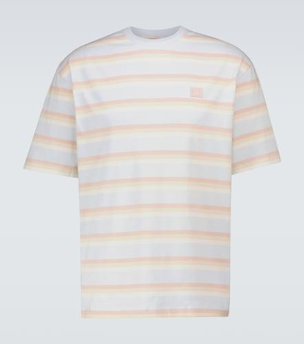 T-shirt rayé Exford Face - Acne Studios - Modalova