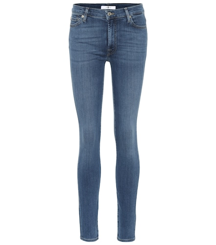 Jean skinny Lovestory à taille haute - 7 For All Mankind - Modalova