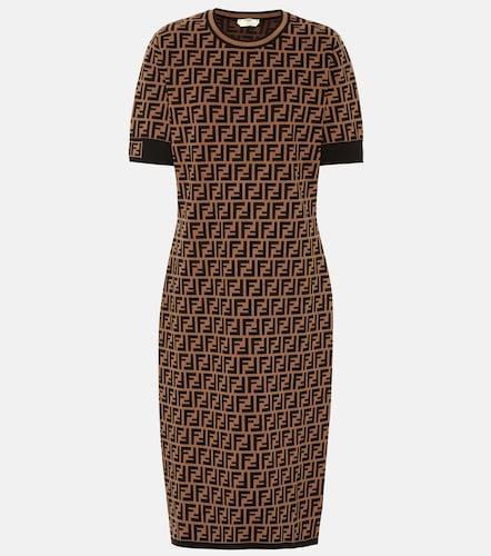 Robe en maille stretch - Fendi - Modalova