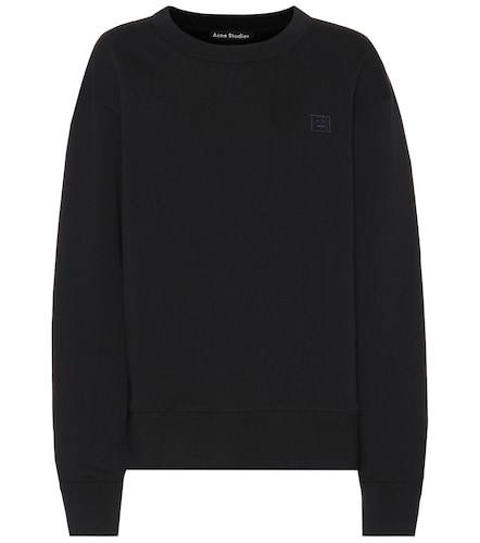 Sweat-shirt en coton Fairview Face - Acne Studios - Modalova