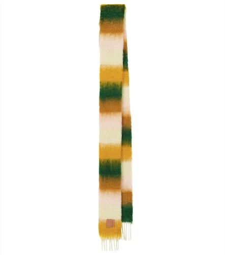 Écharpe rayée en mohair et laine - LOEWE - Modalova