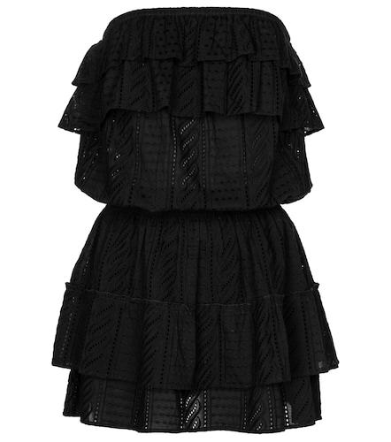 Robe bustier Mia en coton à broderies anglaises - Melissa Odabash - Modalova