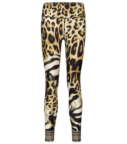 Legging à motif léopard - CAMILLA - Modalova
