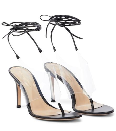 Sandales Nerea en cuir et PVC - Gianvito Rossi - Modalova