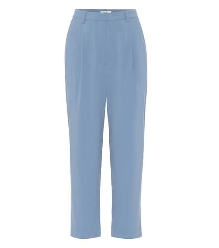 Pantalon droit à taille haute en crêpe - Kenzo - Modalova