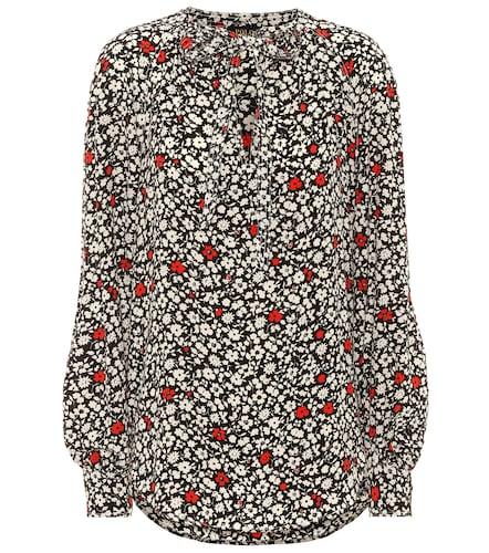 Blouse en crêpe à fleurs - Polo Ralph Lauren - Modalova