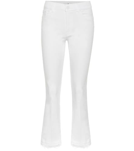 Jean Cropped Boot à taille mi-haute - 7 For All Mankind - Modalova