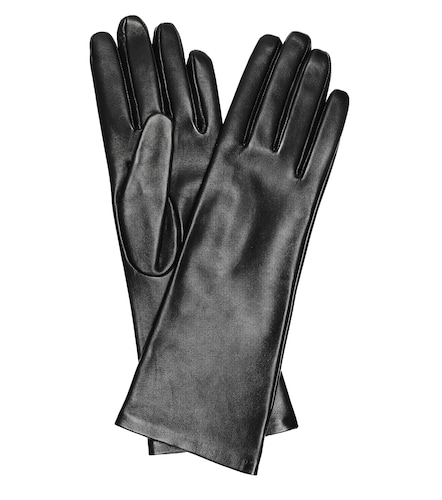 Gants en cuir - Saint Laurent - Modalova