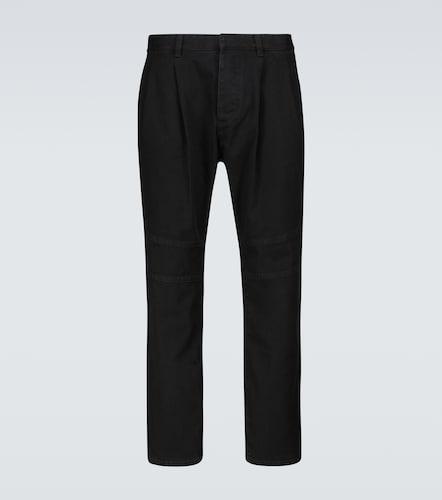 Pantalon chino en coton - Balmain - Modalova