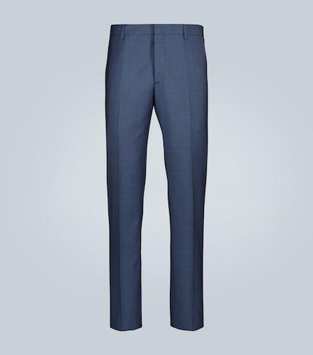 Pantalon droit habillé en laine - Prada - Modalova