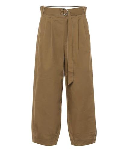 Pantalon ample Stella raccourci en coton - Tibi - Modalova