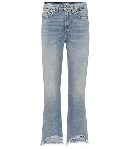 Jean flare Boot Luxe Vintage On Time à taille haute - 7 For All Mankind - Modalova