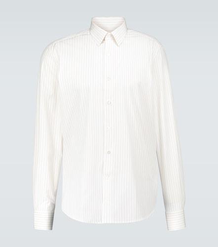 Chemise rayée ajustée - Lanvin - Modalova