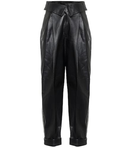Pantalon à taille haute en cuir - Proenza Schouler - Modalova