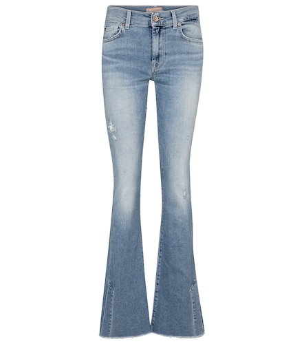 Jean flare à taille mi-haute - 7 For All Mankind - Modalova