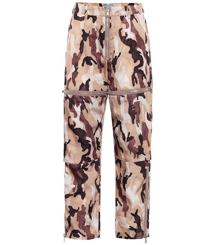 Pantalon imprimé - Prada - Modalova