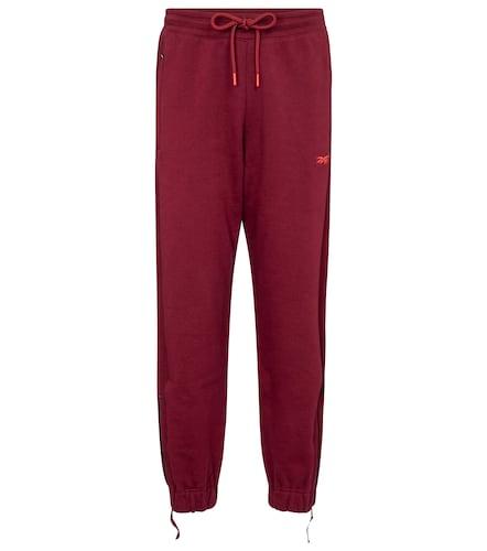 Pantalon de survêtement en coton à logo - Reebok x Victoria Beckham - Modalova