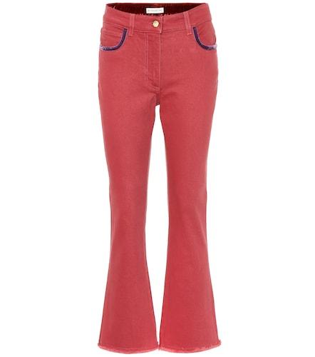 Pantalon évasé en coton brodé - ETRO - Modalova