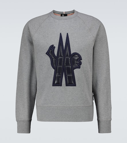 Sweat-shirt en coton à logo - Moncler Grenoble - Modalova