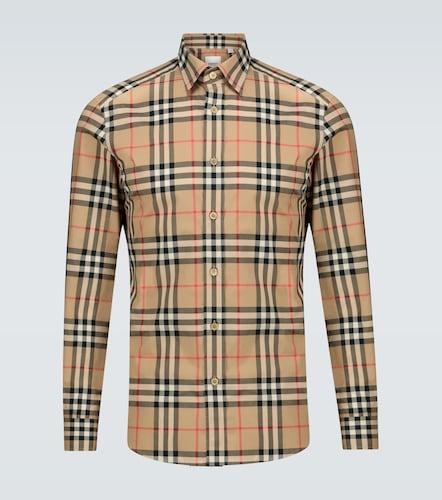 Chemise à carreaux Caxton en coton - Burberry - Modalova