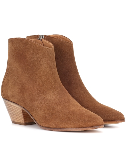 Bottines en daim Dacken - Isabel Marant - Modalova