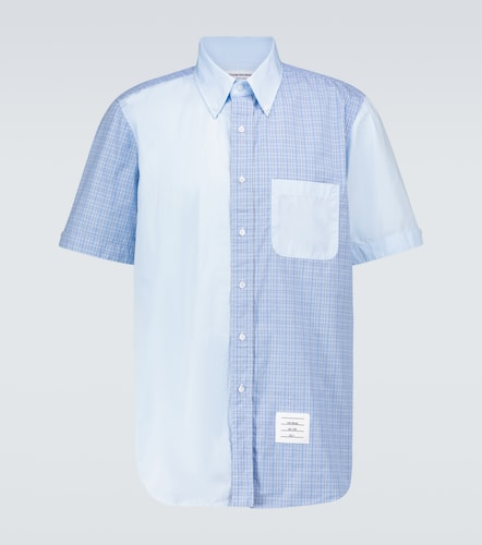 Chemise à manches courtes Fun-Mix en coton - Thom Browne - Modalova