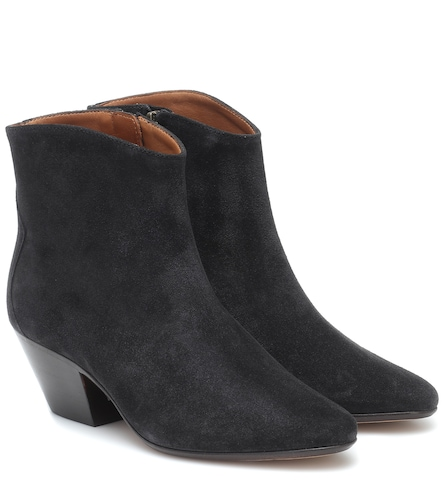 Bottines Dacken en daim - Isabel Marant - Modalova