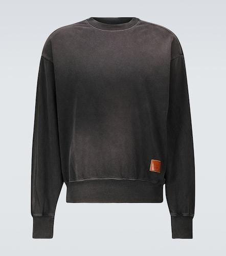Sweat-shirt Fiah Spray Face en coton - Acne Studios - Modalova