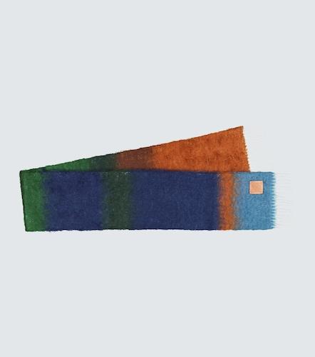 Écharpe rayée en mohair mélangé - LOEWE - Modalova