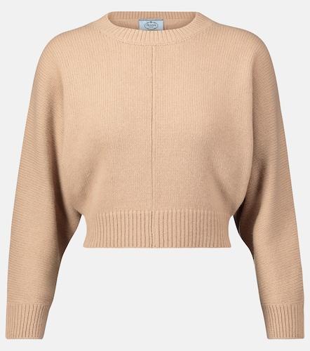 Pull raccourci en laine et cachemire - Prada - Modalova