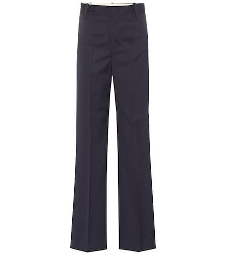 Pantalon Nedford en laine vierge à carreaux - Isabel Marant, Étoile - Modalova
