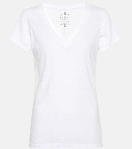 T-shirt Lilith en coton - Velvet - Modalova