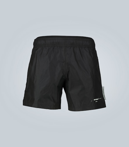 Short de bain Seasonal Logo - Off-White - Modalova