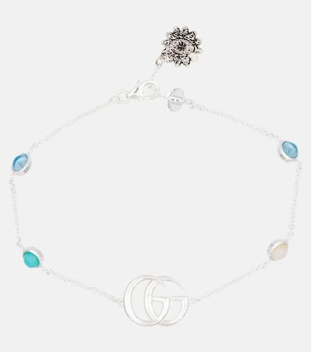 Bracelet GG Marmont Flower en argent sterling - Gucci - Modalova