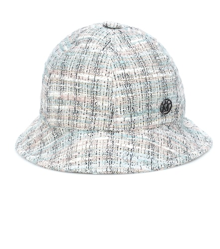 Chapeau Mara en tweed à carreaux - Maison Michel - Modalova