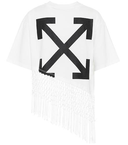 T-shirt imprimé en coton - Off-White - Modalova